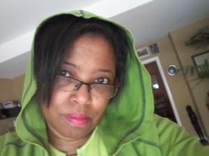 Me rockin' the hoodie.
