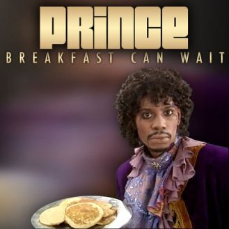 Prince's new album cover features Dave Chappelle, Black Copy